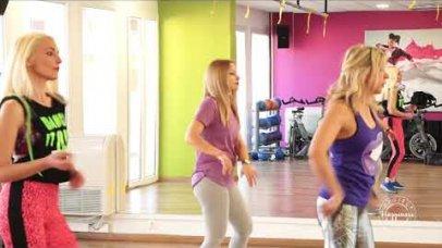 Project Happiness: Το ομαδικό πρόγραμμα Zumba από το γυμναστήριο Ηρακλής